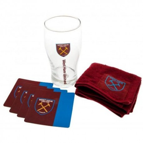 West Ham United FC Mini Bar Set