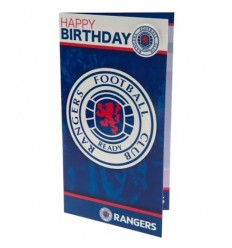 Glasgow Rangers FC Birthday Card
