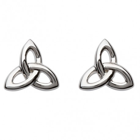 Shanore Celtic Trinity Knot Stud Earrings
