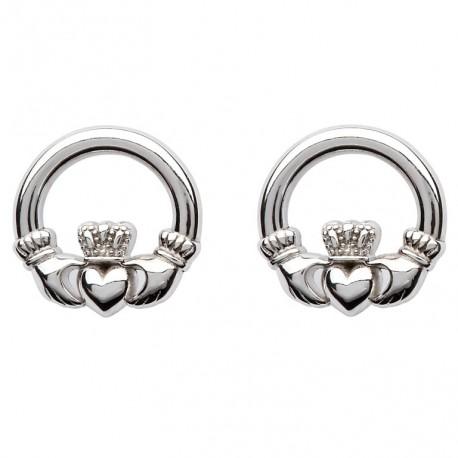 Shanore Claddagh Stud Earrings