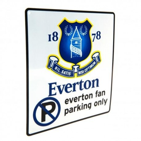 Everton FC No Parking Sign
