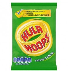 KP Hula Hoops Cheese & Onion - 34g