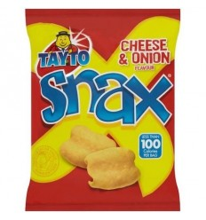 Tayto Cheese & Onion Snax - 22g