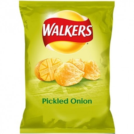 Walkers Pickled Onion Crisps - 32.5g