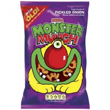 Walkers Pickled Onion Monster Munch - 48g