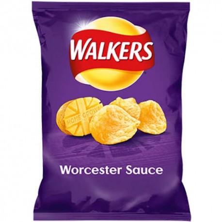 Walkers Worcester Sauce Crisps - 32.5g