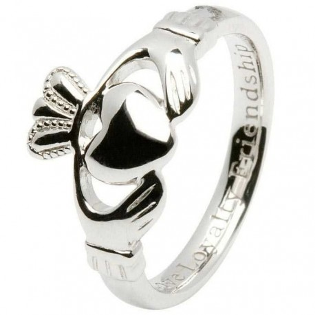Shanore Comfort Fit Ladies Claddagh Ring