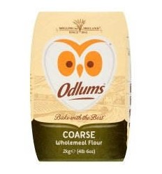 Odlums Wholemeal Coarse - 2Kg