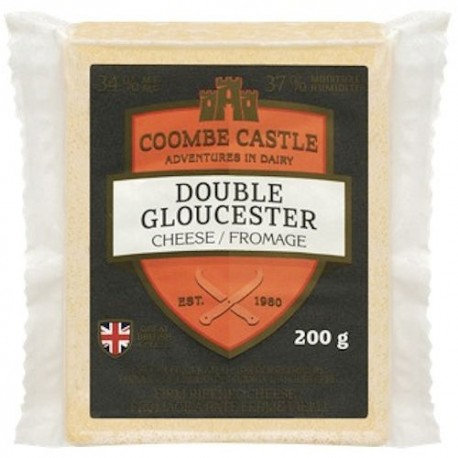 Coombe Castle Double Gloucester Cheese (No Ship)