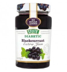 Stute Diabetic Blackcurrant Jam - 430g