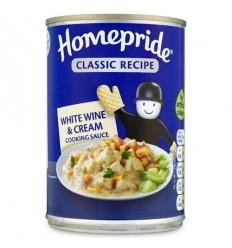Homepride Classic White Wine Sauce - 400g