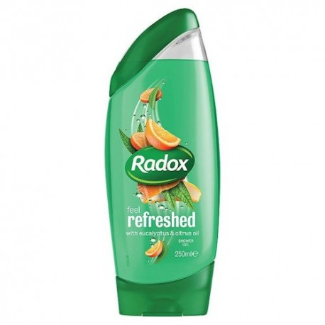 Radox Refresh Shower & Shampoo - 250ml
