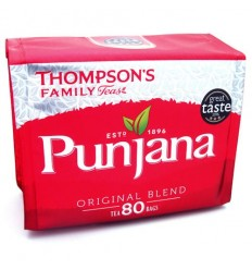 Thompson's Punjana Tea Bags - 80