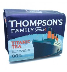 Thompson's Titanic Tea Bags - 80