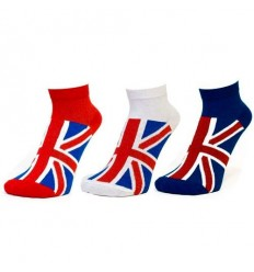 Union Jack Ladies Trainer Socks