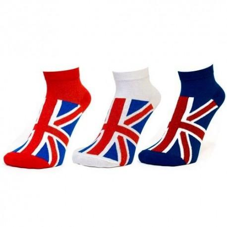 Union Jack Ladies Trainer Socks
