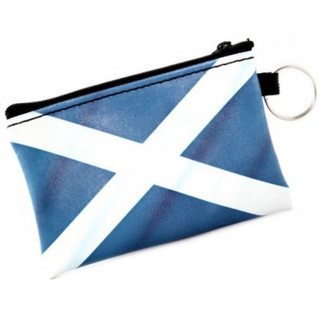 Scotland Salitre Zip Coin Purse