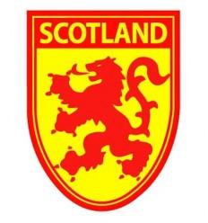 Scotland Lion Rampant Shield Sticker