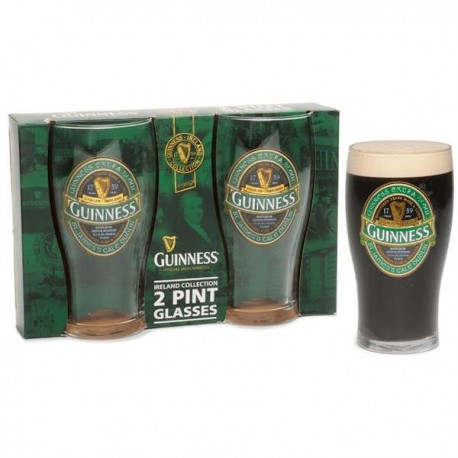 GUINNESS Ireland Collection Pint Glasses