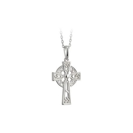 Solvar Celtic Cross Communion Pendant