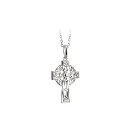 Solvar Celtic Cross Communion Pendant