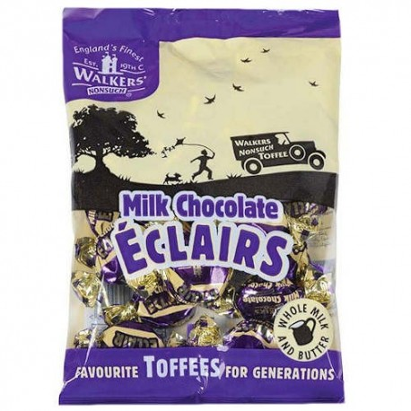 Walker's Nonsuch Milk Chocolate Eclairs - 150g
