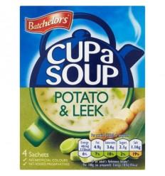Batchelors Potato & Leek Cup a Soup - 4 Pack