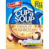 Batchelors Cream of Mushroom Cup a Soup - 4 Pack