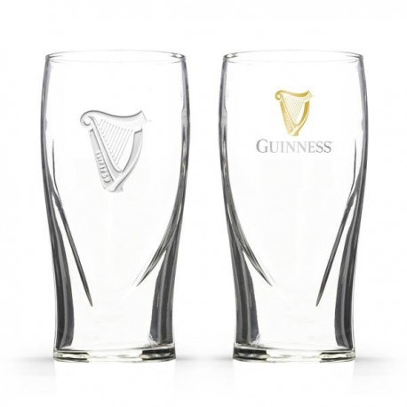 GUINNESS Gravity Pint Glass Set