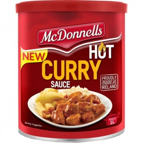 McDonnells Hot Curry Sauce - 250g