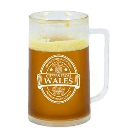 Cheers From Wales Chiller Tankard