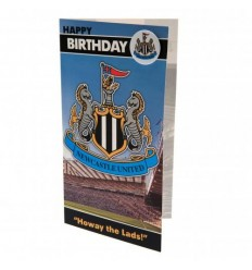 Newcastle United FC Birthday Card