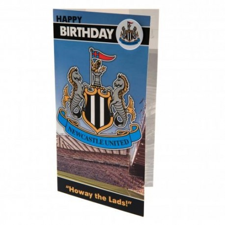 Newcastle United FC Birthday Card
