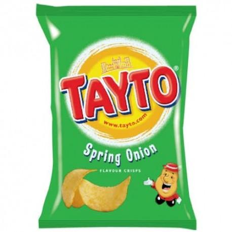Tayto Spring Onion Crisps - 37.5g