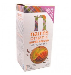 Nairn's Super Seeded Organic Oat Crackers - 200g