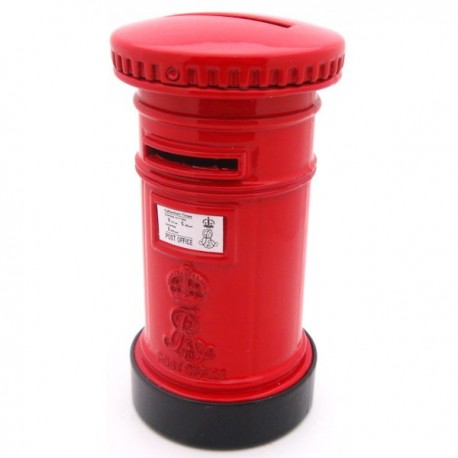 British Post Box Money Bank