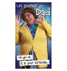 Mrs Brown's Boys Dad Birthday Card