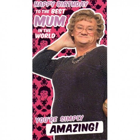 Mrs Brown's Boys Mum Birthday Card