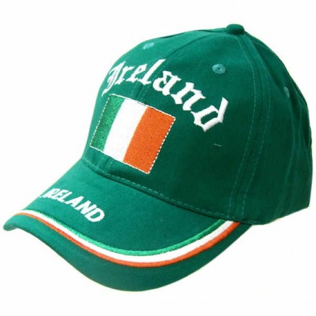 Ireland Flag Green Baseball Cap