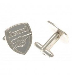 Arsenal FC Silver Plated Cufflinks