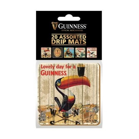 Guinness Heritage Beer Mats