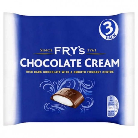 Fry's Chocolate Cream - 3 Pack