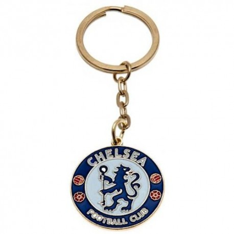 Chelsea FC Crest Keyring