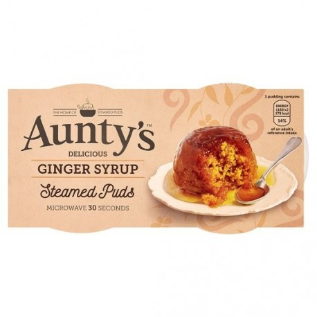 Aunty's Ginger Syrup Pudding - 2x100g