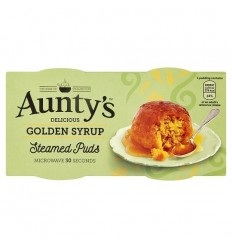 Aunty's Golden Syrup Pudding - 2x100g