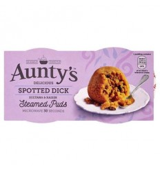 Aunty's Spotted Dick Pudding - 2x100g