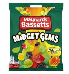 Maynards Bassetts Midget Gems - 160g