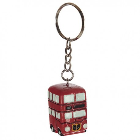 London Double Decker Bus Keyring