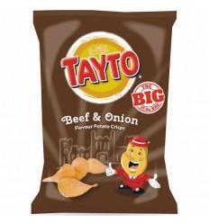 Tayto Beef & Onion Crisps - 37.5g