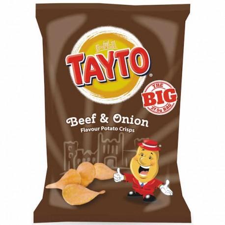 Tayto NI Beef & Onion Crisps - 37.5g